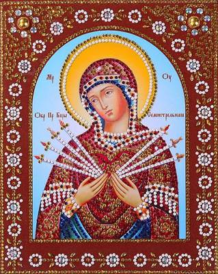 Изображение Пресвятая Богородица Семистрельная