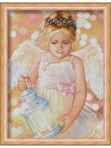 Изображение Ангел с фонариком