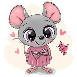 Изображение Мышка в платье