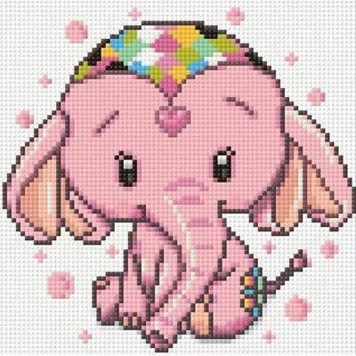 Изображение Розовый слоник