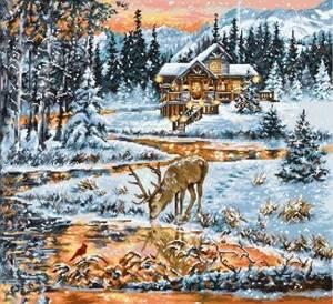 Изображение Хижина в лесу