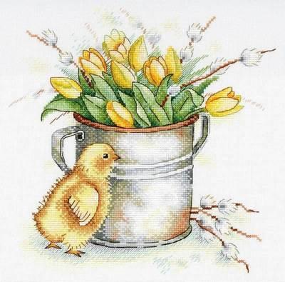 Изображение Тюльпановое настроение