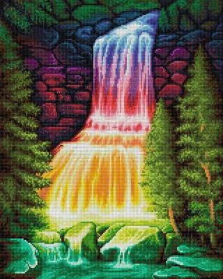 Изображение Радужный водопад