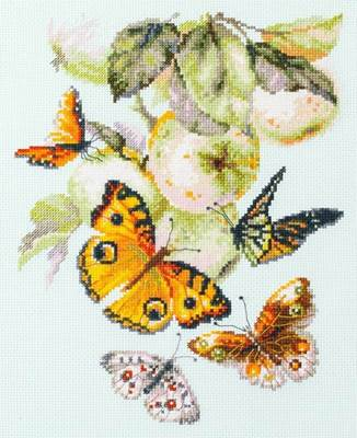 Изображение Бабочки на яблоне