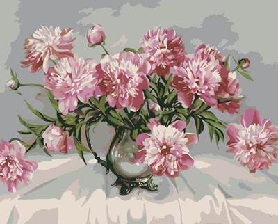 Изображение Букет хризантем