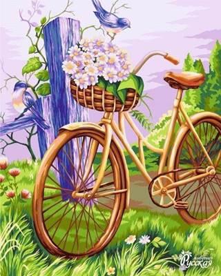 Изображение Велосипед с корзинкой