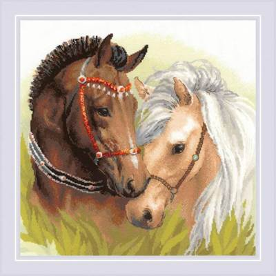 Изображение Пара лошадей