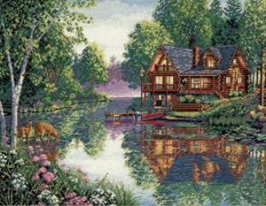 Изображение Дом у ручья