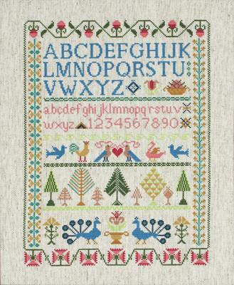 Изображение Викторианские мотивы (Victorian Sampler)