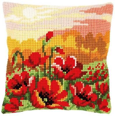 Изображение Маковый луг (подушка) (Poppy meadow)
