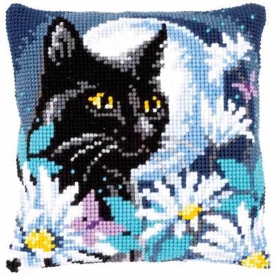 Изображение Ночной кот (подушка) (Cat in the night)