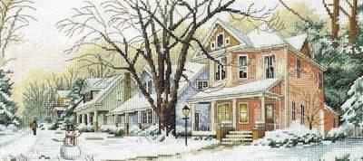 Изображение Зимняя улица