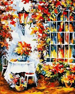 Изображение Столик в саду
