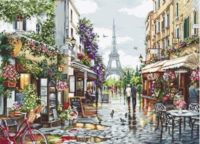 Изображение Цветущий Париж