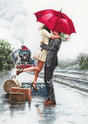 Изображение Влюбленные на вокзале
