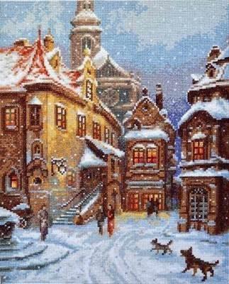 Изображение А снег идёт
