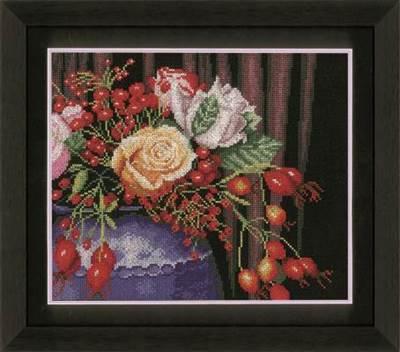 Изображение Букет шиповника (Rosehip Bouquet)