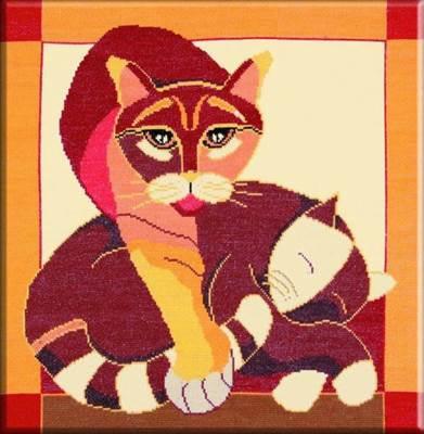Изображение Стилизованные коты 2