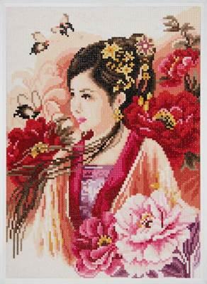 Изображение Восточная девушка в розовом