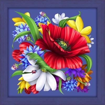 Изображение Цветной букет