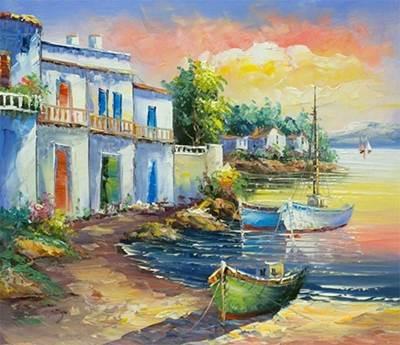 Изображение Закат на берегу