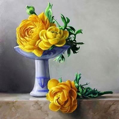 Изображение Жёлтые пионы