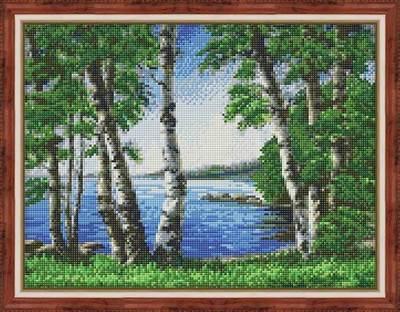Изображение Березы у озера