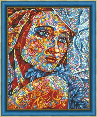 Изображение Витражный портрет