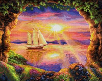 Изображение Корабль на закате