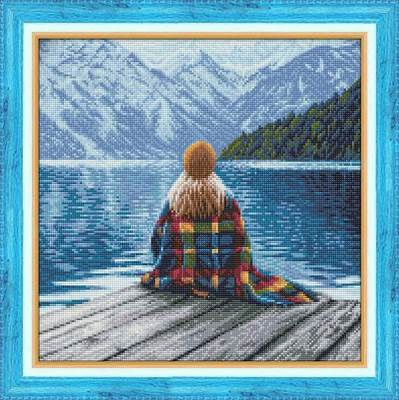 Изображение Девушка у озера