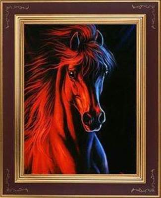 Изображение Огненный конь
