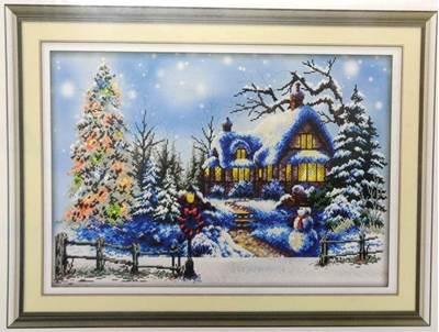 Изображение Зимняя деревушка
