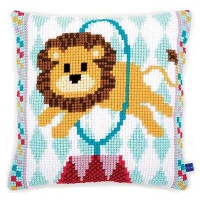 Изображение Лев в цирке (подушка) (Circus Lion Cushion)