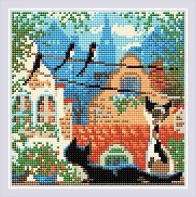 Изображение Город и кошки. Лето