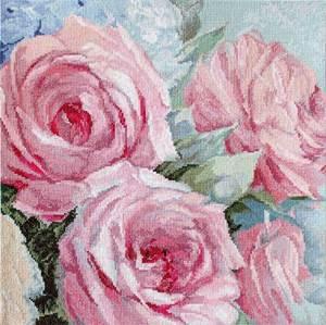 Изображение Бледно-розовые розы (Pale Pink Roses)