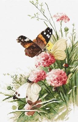 Изображение Бабочки в поле (Butterflies in the field)