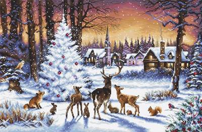 Изображение Рождественский лес (Christmas Wood)