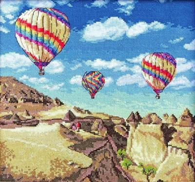 Изображение Воздушные шары в Гранд-Каньоне (Balloons over Grand Canyon)