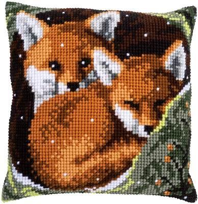 Изображение Лисы (подушка) (Foxes)