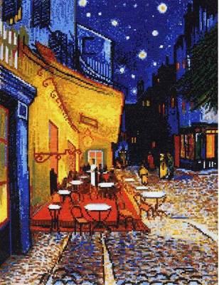 Изображение Ночная терраса кафе