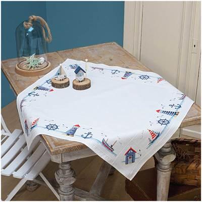 Изображение Морской дизайн Скатерть (Maritime design Tablecloth)