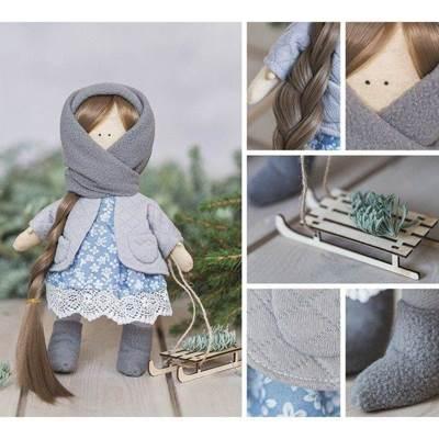 Изображение Мягкая кукла Маня