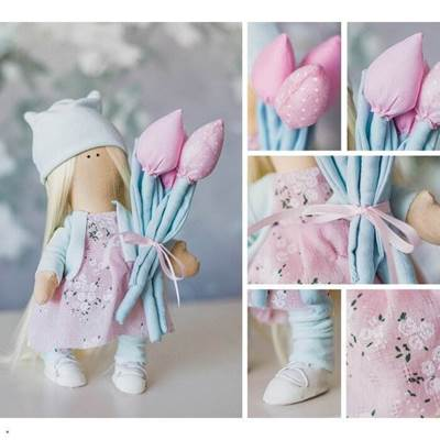 Изображение Мягкая кукла Марта