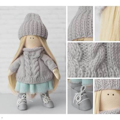 Изображение Мягкая кукла Лика