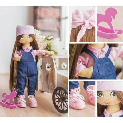 Изображение Мягкая кукла Эмма