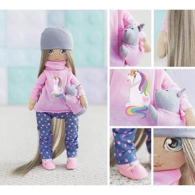 Изображение Мягкая кукла Лора