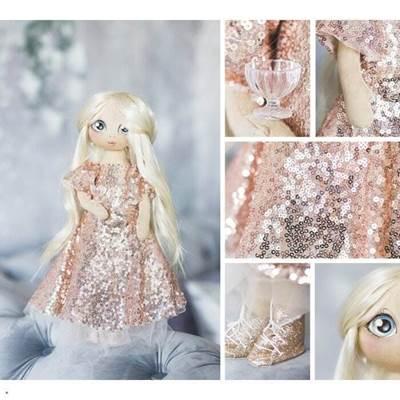 Изображение Мягкая кукла Николь