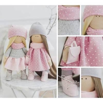 Изображение Мягкие куклы Подружки Вики и Ники