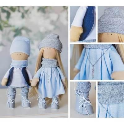 Изображение Мягкие куклы Ник и Натти