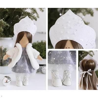 Изображение Мягкая кукла Снегурочка